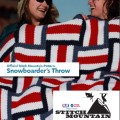 Stitch Mountain - Snowboarder's Throw