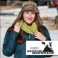 Stitch Mountain - Zigzag Neckwarmer
