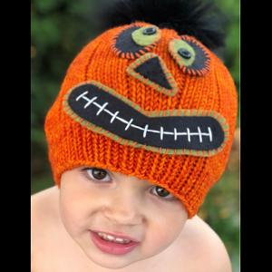 ff19fc08e3b Halloween Pumpkin Beanie Free Knitting and Crochet Pattern at Jimmy ...