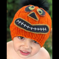 Halloween Pumpkin Monster Skeleton Hat