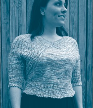 Berroco Top Down (Almost) Seamless Pull Free Knitting Pattern at Jimmy Beans ...