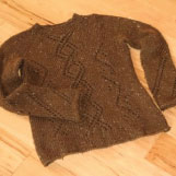 Knitting shaping article end results