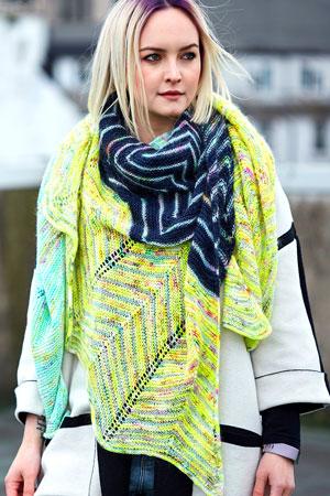 Baseline Shawl Free Knit Pattern at Jimmy Beans Wool