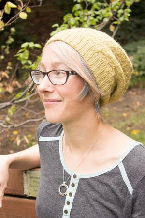 Kristen's Flicker Winter Wheat Hat