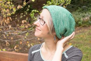 Erika's Simple Slouchy Hat