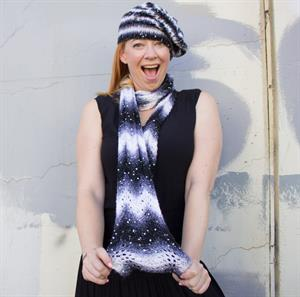 Leslie's Polaris Misty Garden Hat and Razzle Dazzle Beret