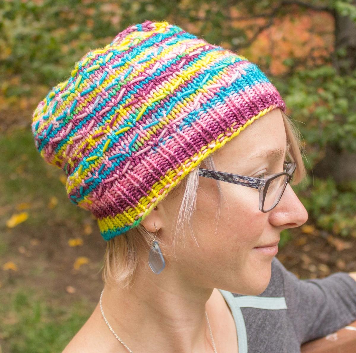 Crochet Sugar Skull Hat Pattern