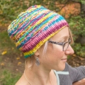 Leanne's Winter Wheat Sugar Skulls Hat