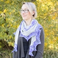 Leslie's Ripple Effect Shawl
