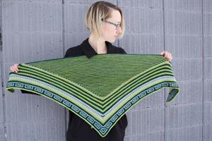 Chris's Meandros Shawl