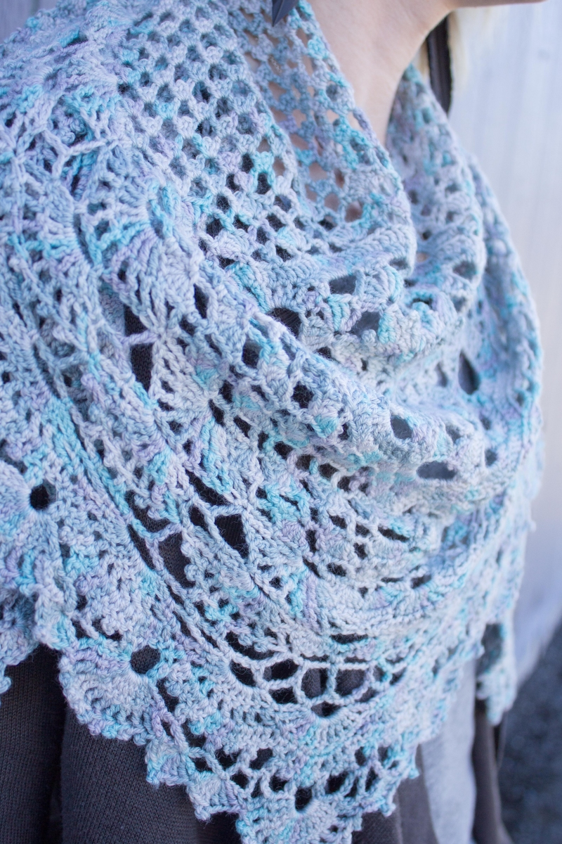 Downton Abbey Knitting Patterns Free : Downton Abbey Crocheted Shawl - Knitting Project Detail at Jimmy Beans Wool