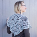 Downton Abbey Crocheted Shawl