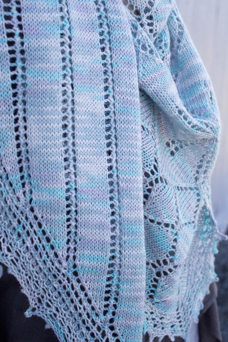Downton Abbey Knitting Patterns : Kristens Downton Abbey MKAL Shawl - Knitting Project Detail at Jimmy Bea...