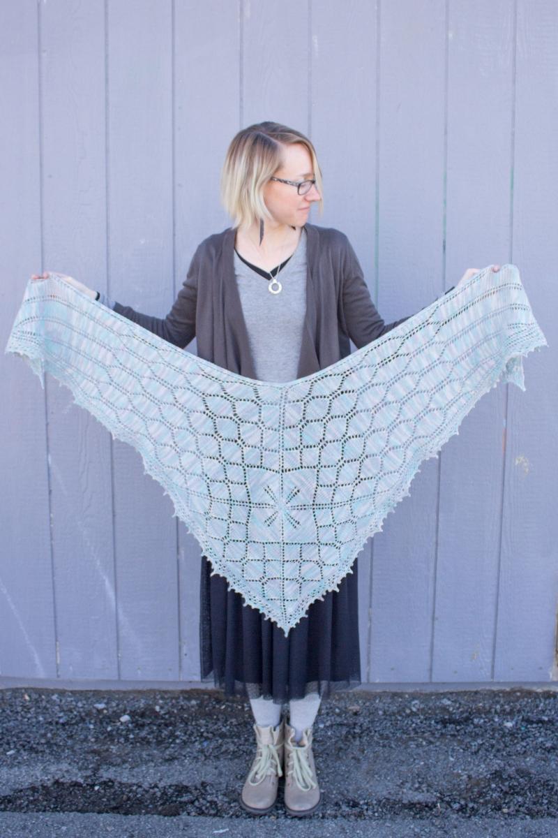 Kristen\'s Downton Abbey MKAL Shawl - Knitting Project Detail at ...