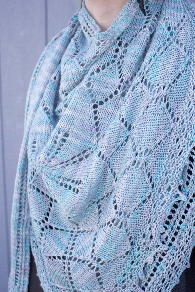 Downton Abbey Knitting Patterns Free : Kristens Downton Abbey MKAL Shawl - Knitting Project Detail at Jimmy Bea...