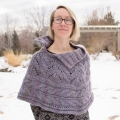 Erika's Lace and Cable Poncho
