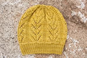 Kristen's Golden Aquarius Hat