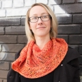 Heather's Breathe Shawlette