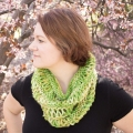 Rachel's Drop Stitch Cowl