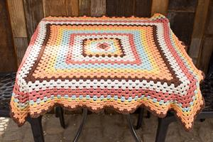 Terry's Granny Square Baby Blanket