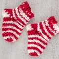 Lina's Toe Up Toddler Socks