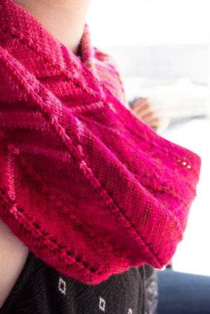 Laura's Color Play Cowl