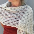 Emma's Fir Cone Lace Shawl