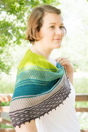 Kristen's Queen of Thorns KAL Shawl