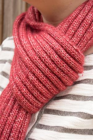Sharon's Ribbed Scarf