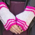 Monika's Light Pink Veremiere Mitts
