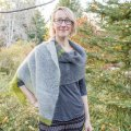 Ann's Crochet Colorblock Wrap
