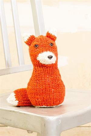 Lina's Stuffed Fox
