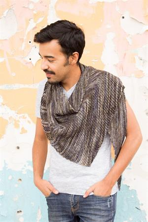 Chris' DK Weight Moho Shawl