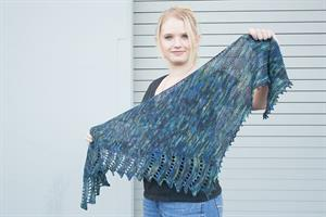 Erika's Close To You Shawl