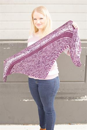 Leanne's Scalene Scarf