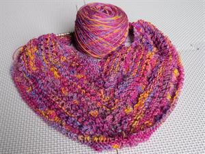 Monika's Belles and Bobbles Shawlette