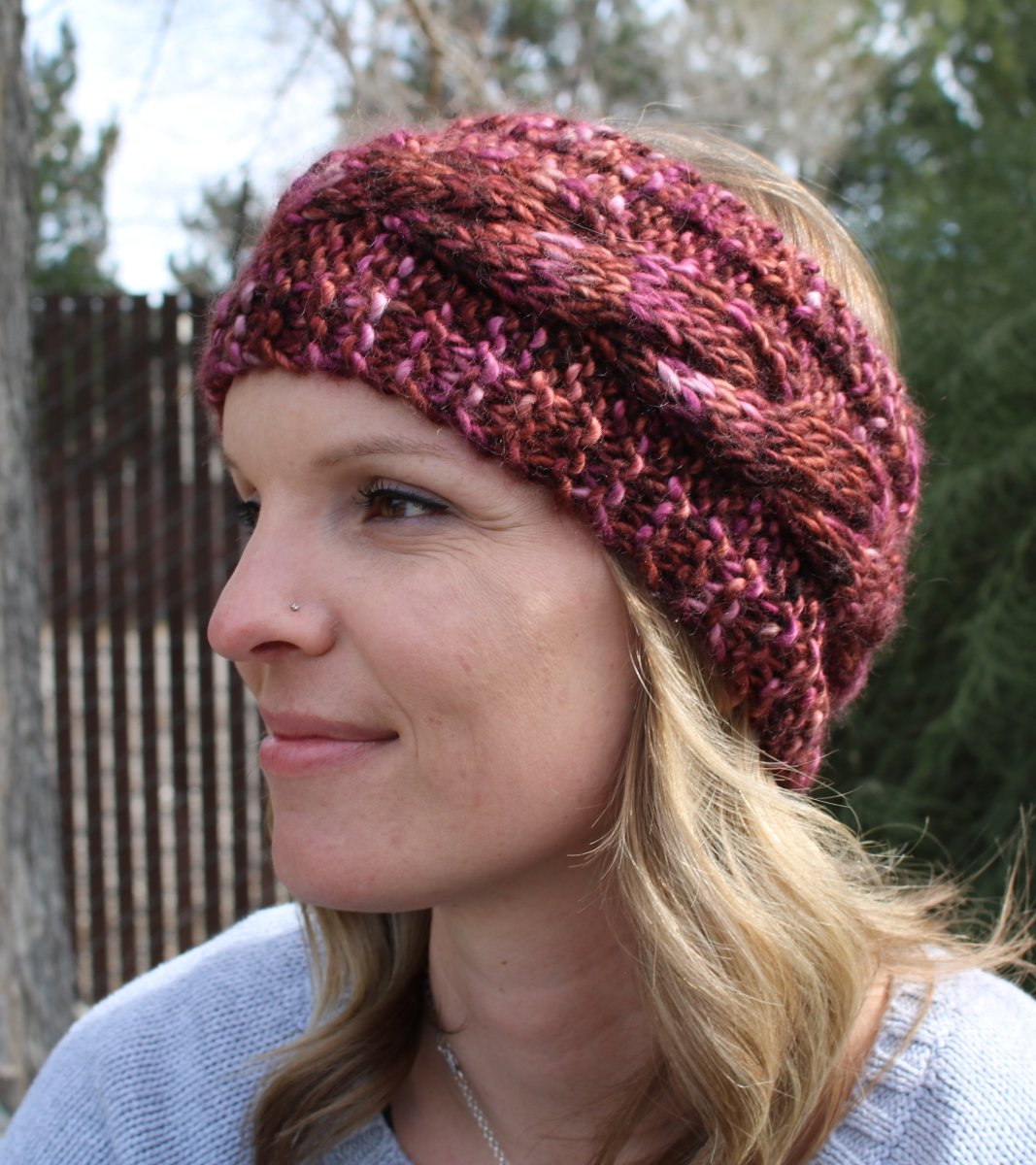 Wendy\'s Super Easy Chunky Cabled Headband - Knitting Project Detail ...