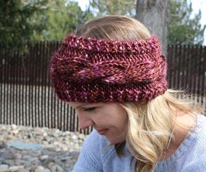 Wendy's Super Easy Chunky Cabled Headband