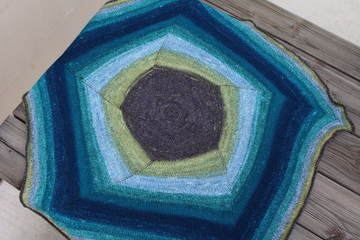 Laura\'s Spiral Light Baby Blanket - Knitting Project Detail at Jimmy ...