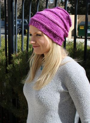Wendy's Favorite Knit Slouchy Hat