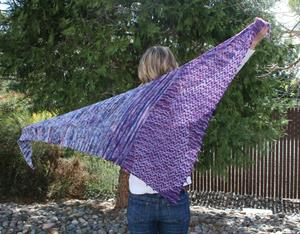 Chris' Garden Bed Shawl