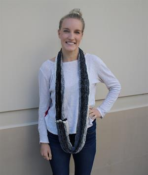 Trendsetter's Ghost Cone Scarf 2
