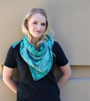 Brittany's Torrent Shawl