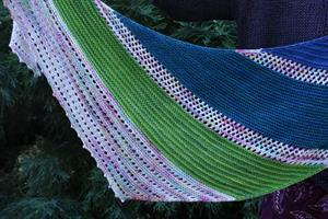 Wendy's Incremental Shawl