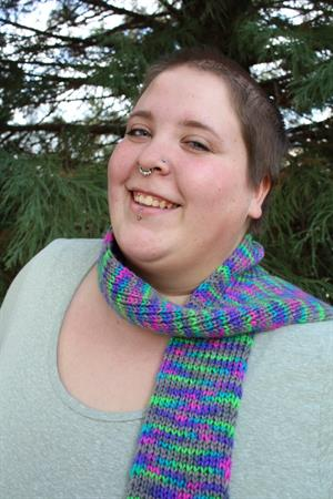 Jenna's Wicked Easy Scarf
