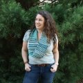 Heather's Mosaic Tiles Cowl
