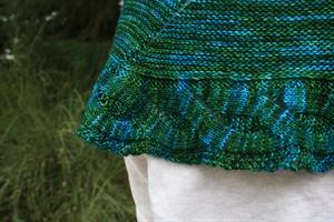 Ailene's Coast Starlight Shawl