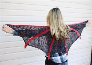 Monika's Dragonhide Shawl