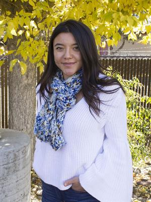 Laura's Sodalite Scarf