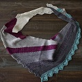 Rachel's Sugarplum Shawl